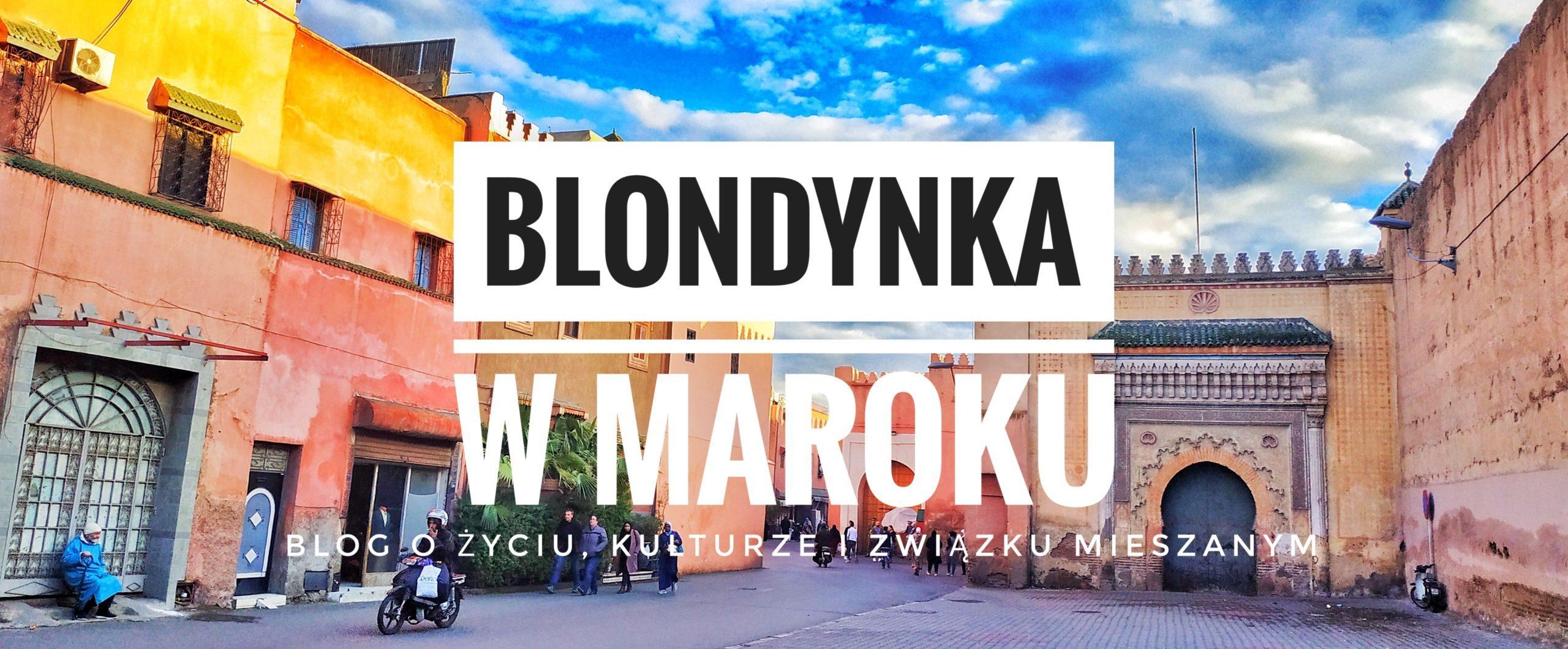 Blondynka w Maroku