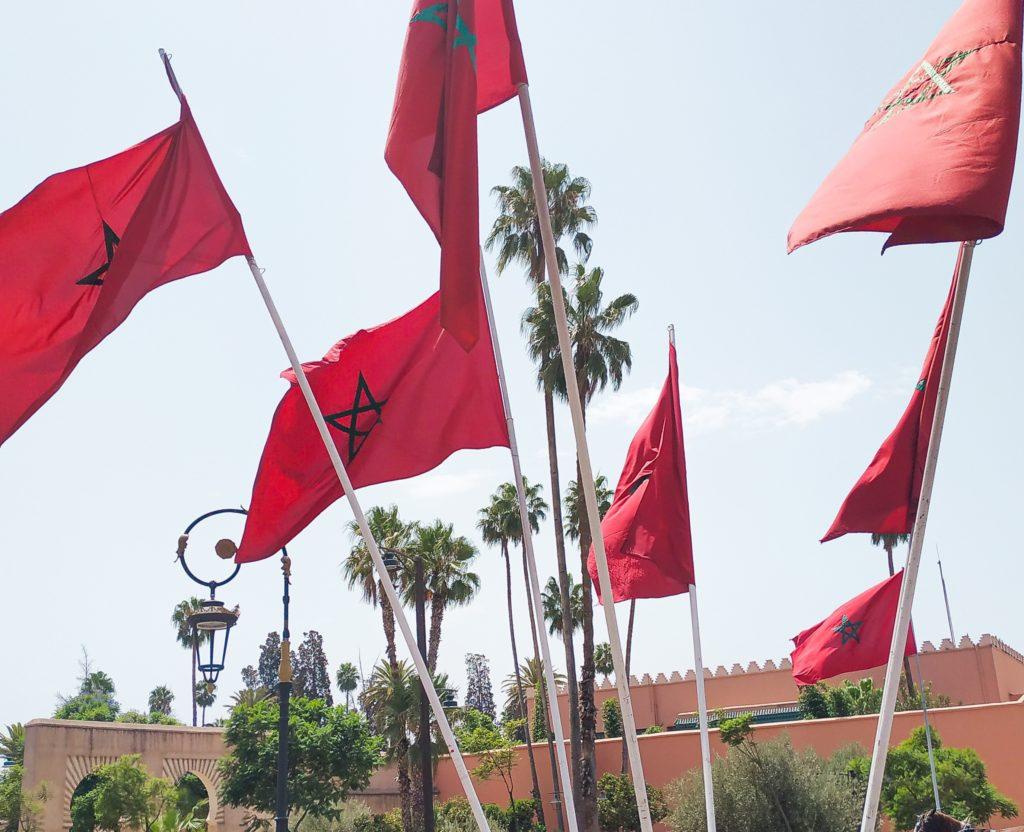 maroko marrakesz blondynka w maroku wakacje 2020
