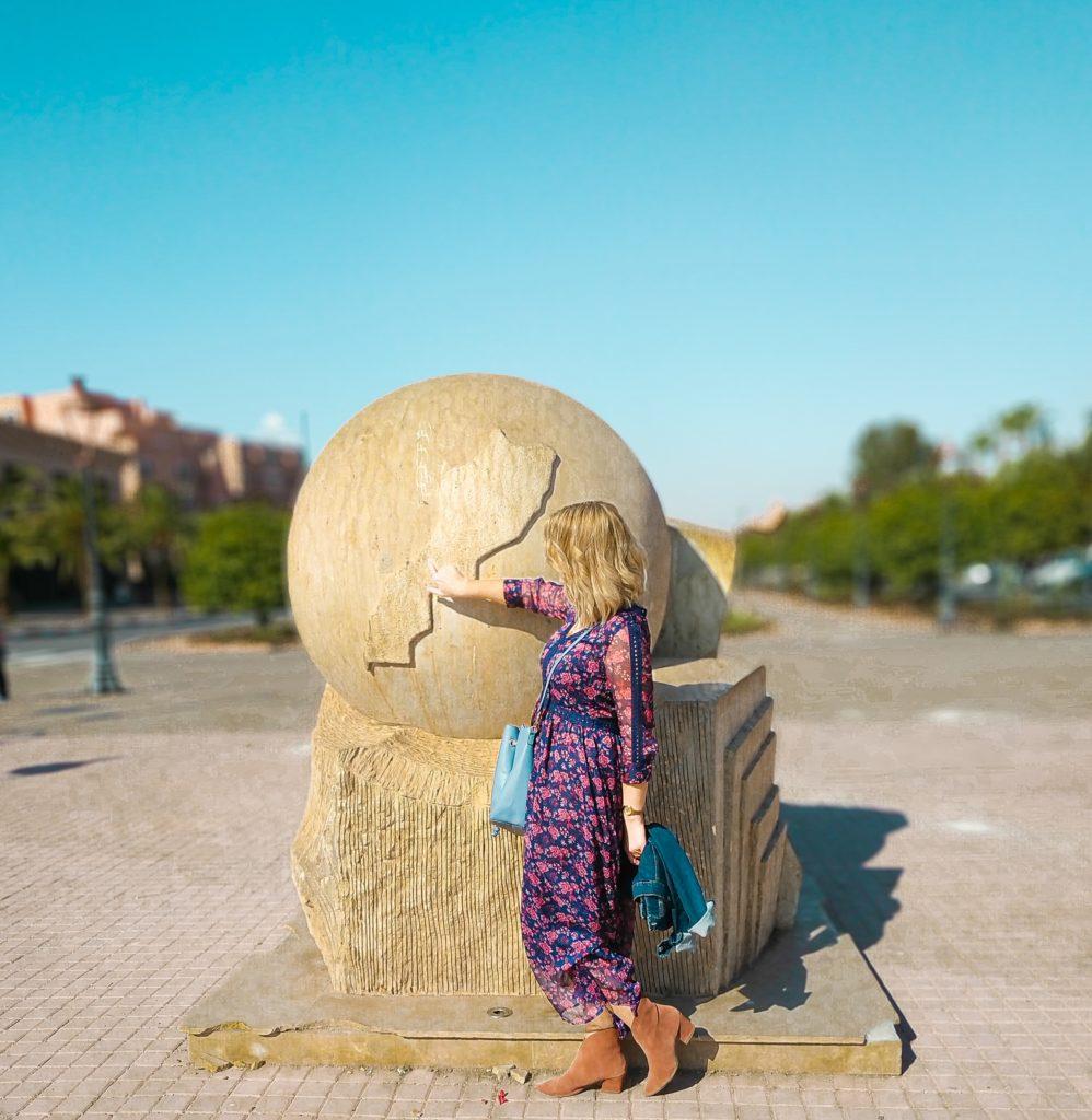 Maroko Marrakesz wakacje 2020 blondynka w maroku