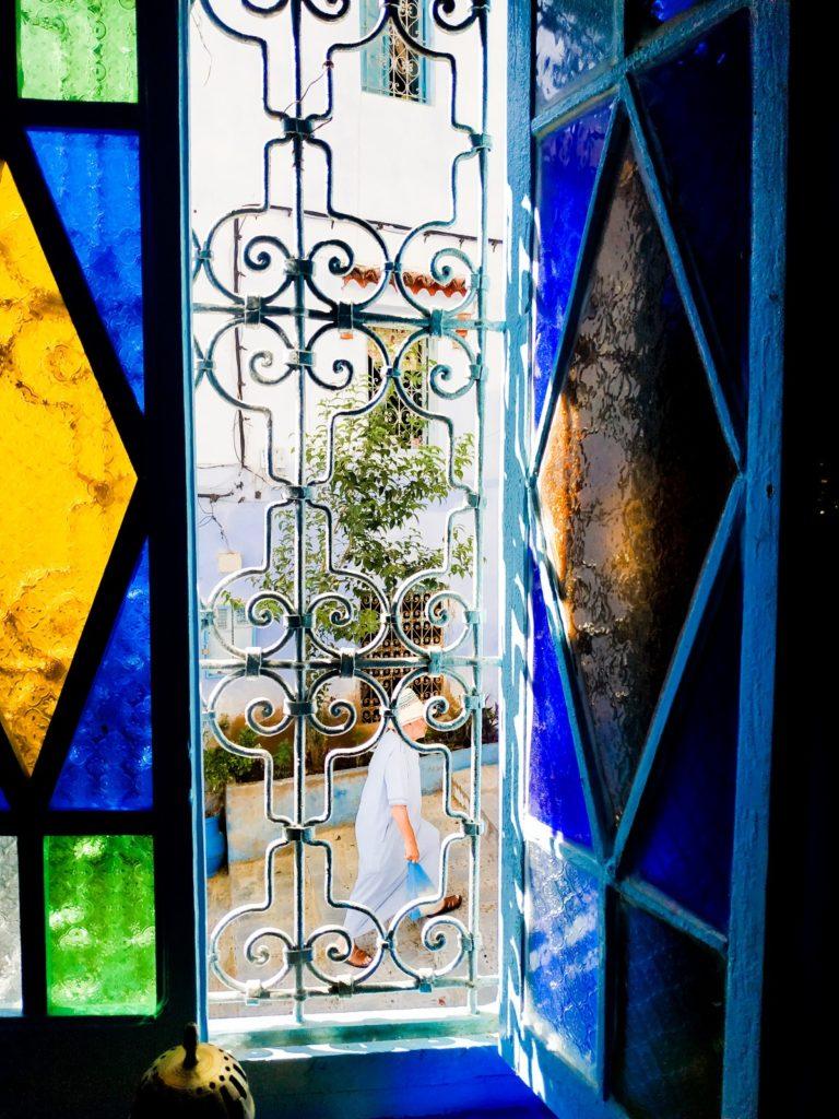 witrażowe okna