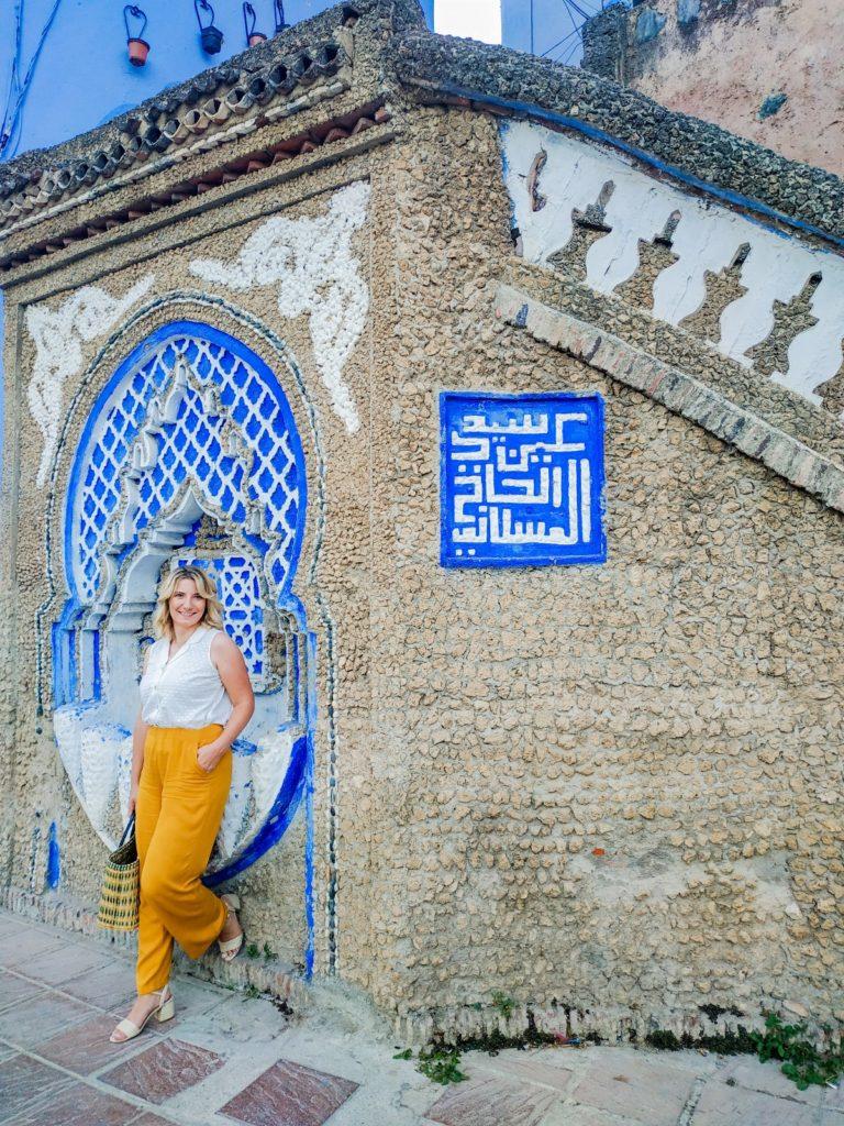 Kobieta w Chefchaouen