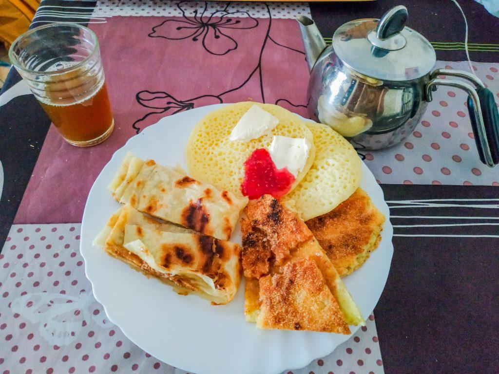 baghrir śniadanie w maroku