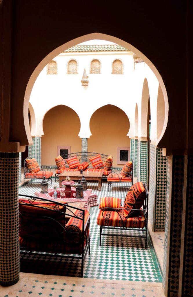 nocleg na pustyni Merzouga w Maroku riad
