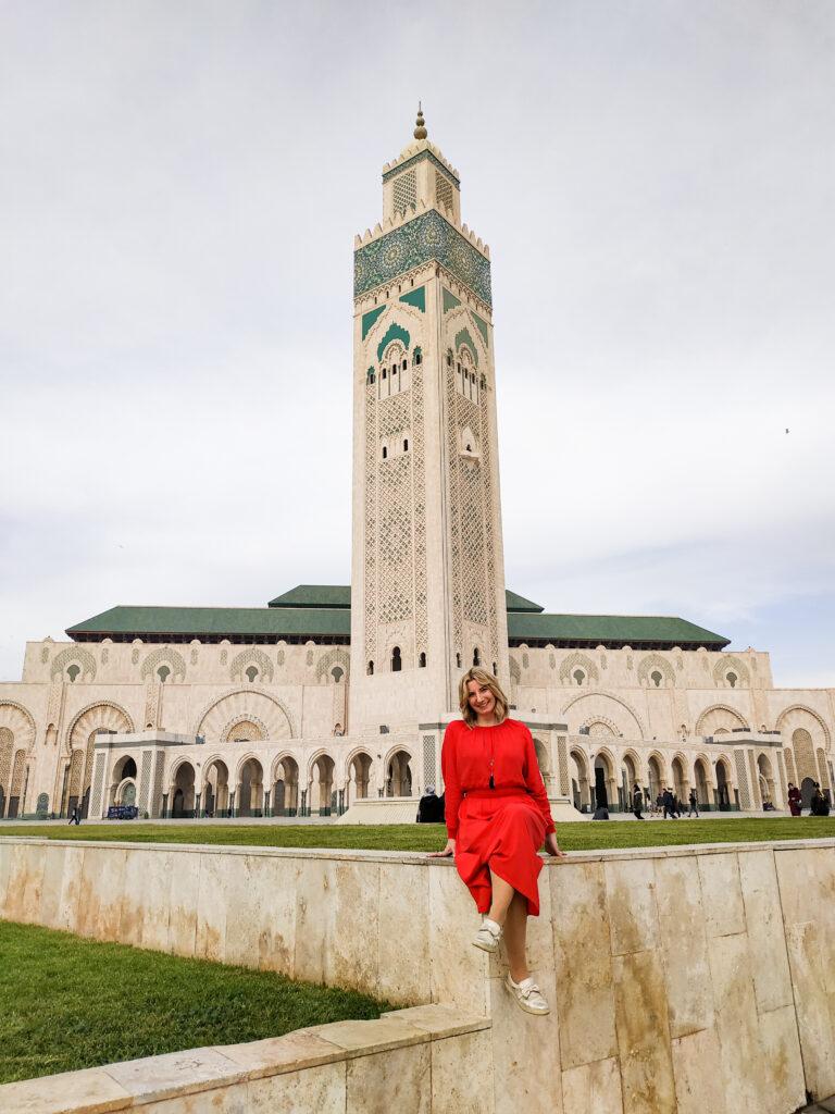 Meczet w Casablance w Maroku